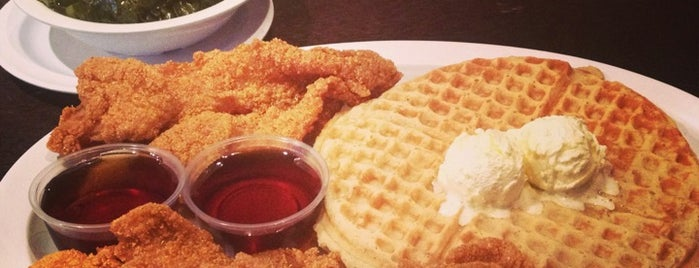 Chicago's Home Of Chicken & Waffles is one of Must Visit Restaurants in Chicago.