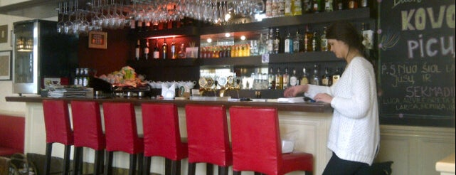 Osteria da Luca is one of Where to eat in Vilnius.