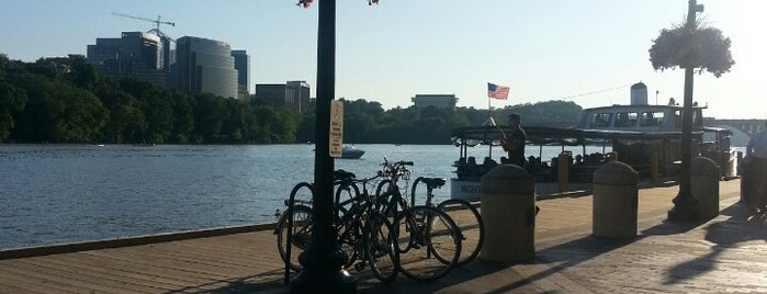 Nick's Riverside Grille is one of DC going out guide..
