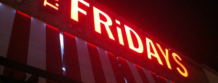 T.G.I. Friday's is one of Love eat!.