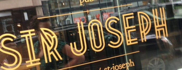 Pub Sir Joseph is one of Soupers MTL.