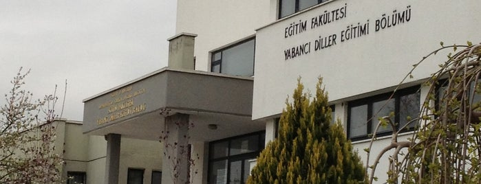 ODTÜ Yabancı Diller Eğitim Fakültesi is one of Best Of Middle East Technical University.