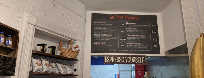 Le Petit Parisien is one of NYC to do.