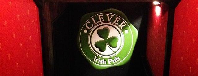 Clever Irish Pub is one of Минские пивные бары.