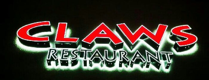 Claws Restaurant is one of Favorite OC Restaurants.
