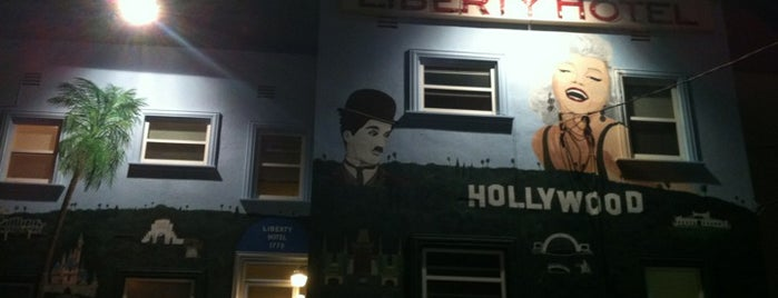 Hollywood Liberty Hotel is one of Los angeles.