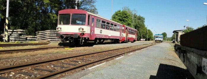 Železniční stanice Mutěnice is one of Železniční stanice ČR: M (7/14).