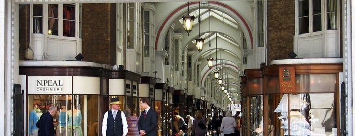 Burlington Arcade is one of Done List.