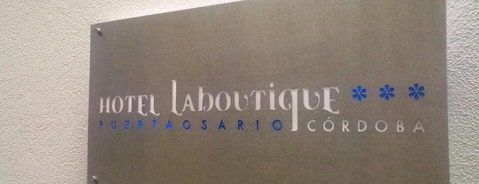 Hotel La Boutique is one of Donde comer y dormir en cordoba.