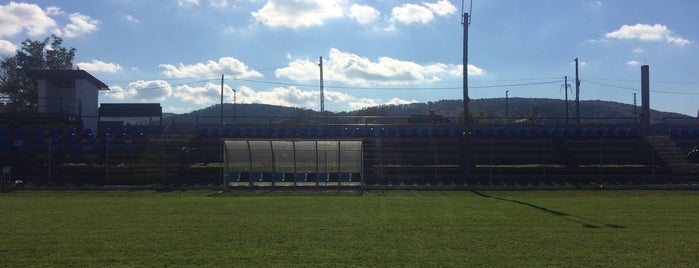 Várady Béla Sportközpont is one of Stadionok.