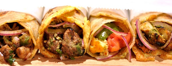 The Kati Roll Company is one of Beme lunch spots.