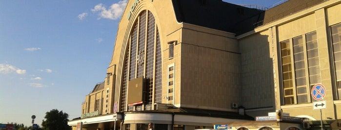 Железнодорожный вокзал «Киев-Пассажирский» is one of Kiev_travel.