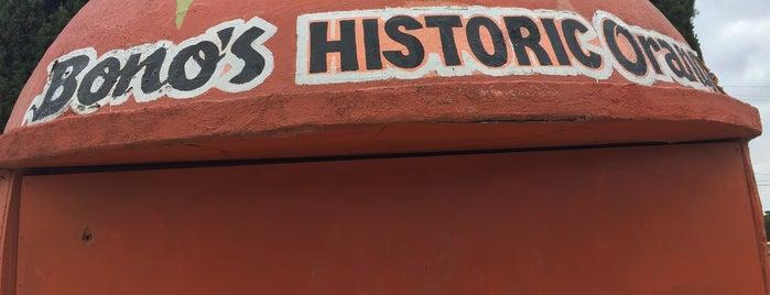 Bono's Historic Orange is one of Nikki Kreuzer's Offbeat L.A..
