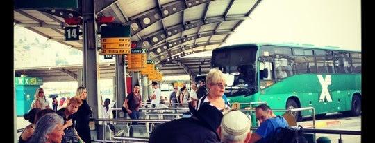 (מרכזית המפרץ) Lev H'amifratz Central Bus Station is one of Образование.