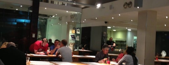 wagamama is one of Restaurants I've been to.