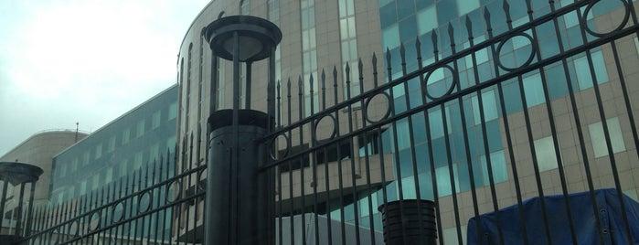 Отделение 1 Главного управления Центрального банка Российской Федерации по ЦФО  в г. Москва is one of Бывал.
