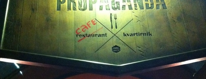Propaganda Café is one of good food.