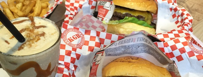 KGB (Killer Gourmet Burgers) is one of The 15 Best Places for Burgers in Kuala Lumpur.