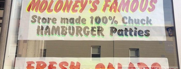 Moloney's Meat Market is one of Hoboken.