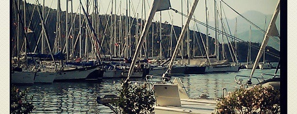 Mod Yacht Lounge is one of Fethiye.