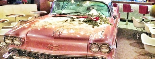 The Pink Cadillac is one of Moscow.