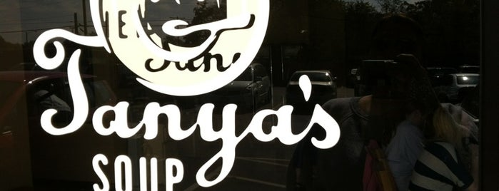 Tanya's Soup Kitchen is one of 40 Under 40 class of 2013 favorite lunch spots.