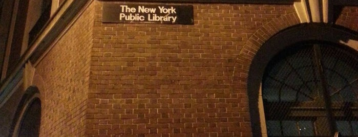 New York Public Library - Hudson Park is one of New York Public Libraries.