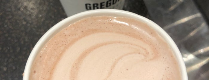 Gregory's Coffee is one of Work.