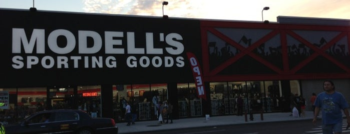 Modell's Sporting Goods is one of NYC.