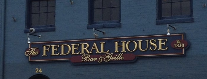 Federal House is one of bars.