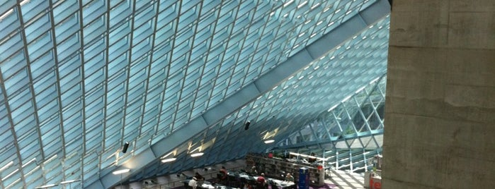 Seattle Central Library is one of Early.