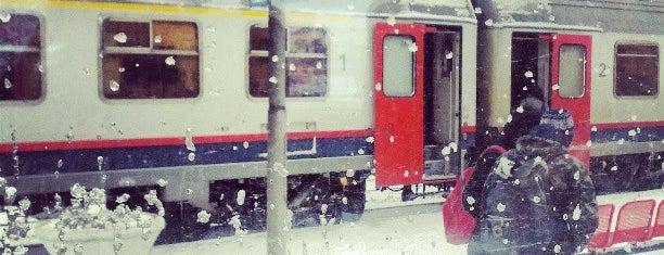 Station Menen is one of Bijna alle treinstations in Vlaanderen.