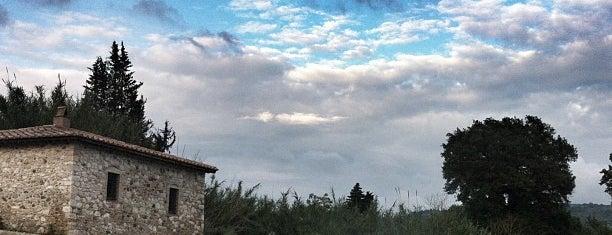 Cascatelle termali del Gorello (o del Mulino) - Saturnia is one of Florenz/ Toskana.