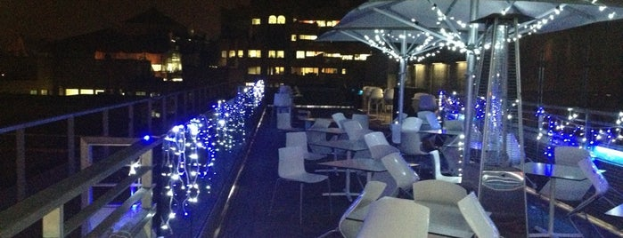 Sky Lounge is one of London bars.