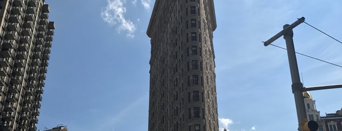 Flatiron Building is one of NYC Stay-cation.