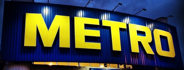 METRO Cash & Carry is one of My places.