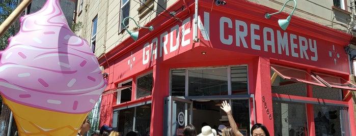 Garden Creamery is one of SF todo.