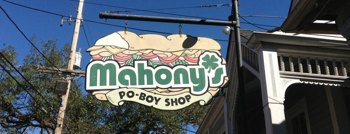 Mahony's Po-Boy Shop is one of Roadtrippin.