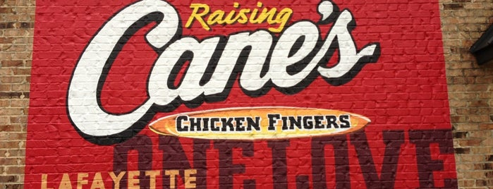Raising Cane's Chicken Fingers is one of New Orleans/Lafayette.