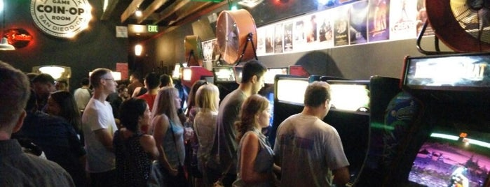 Coin-Op Game Room is one of San Diego by Hearts Are Analog.
