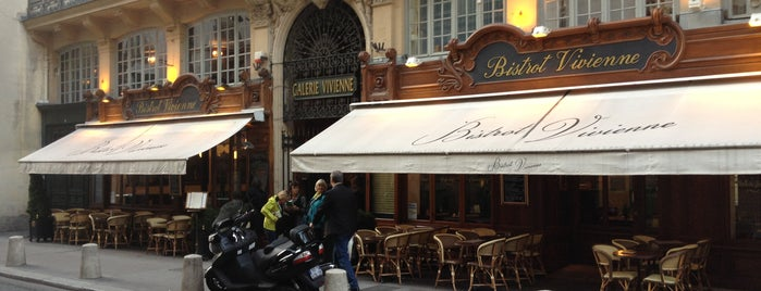 Bistrot Vivienne is one of Tops Restos Paris.