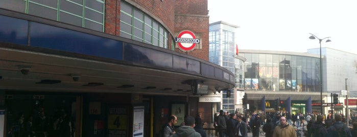Wood Green London Underground Station is one of Tube Challenge.