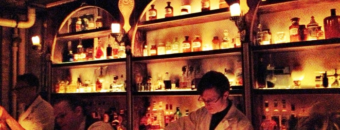Apothéke is one of My Definitive NYC Bar List.
