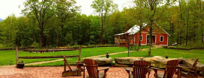 Zeno Mountain Farm is one of places to go.
