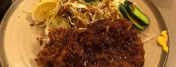 味のとんかつ 丸一 is one of リピ確定.