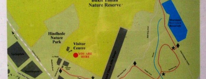 Kampong Trail : Hindhede Entrance is one of Trek Across Singapore.