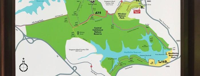 Windsor Nature Park is one of Trek Across Singapore.