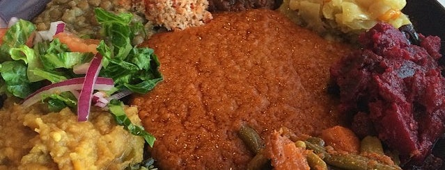 Desta Ethiopian Restaurant is one of DFW -More Great Food.