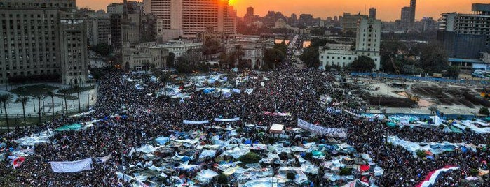 Tahrir Square is one of All-time favorites in Egypt.