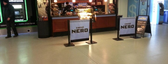 Caffè Nero is one of Dining at Gatwick Airport North Terminal.